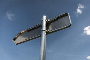 Signalisation permanente panneau directionnel D21 Armen
