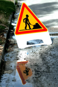 Signalisation temporaire panneau de chantier AK5 Panokosto