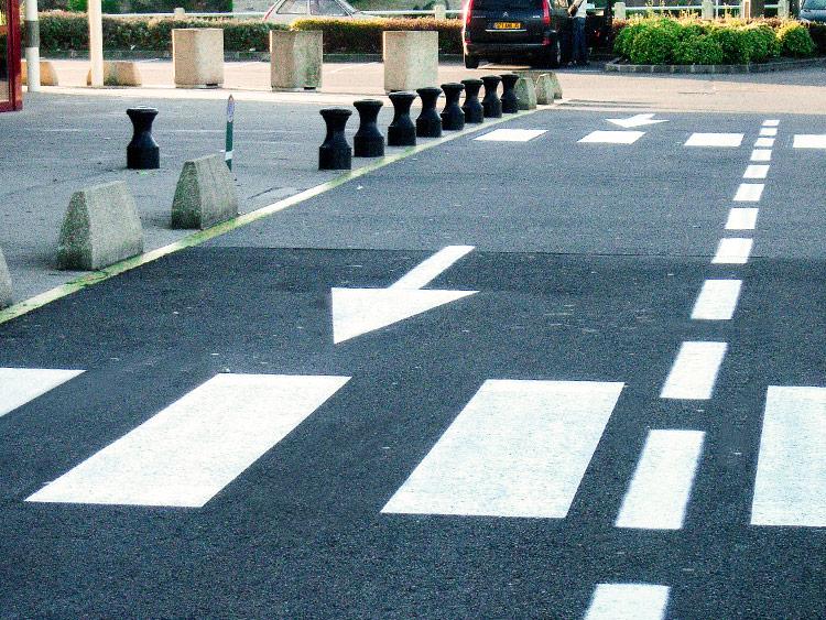 Signalisation horizontale marquage au sol